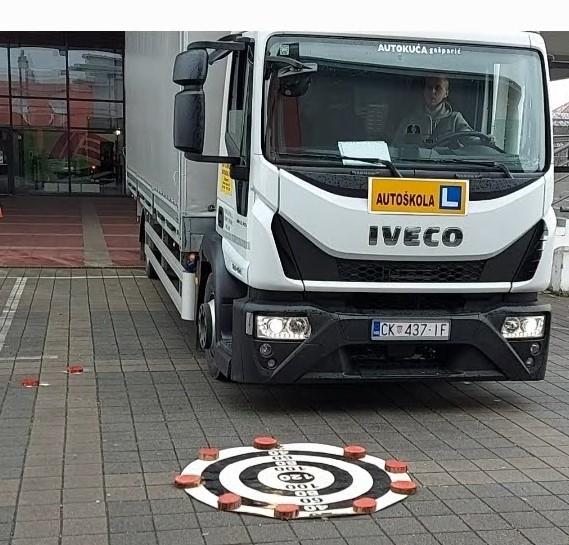 2. mjesto na međužupanijskom natjecanju budućih vozača motornog vozila
