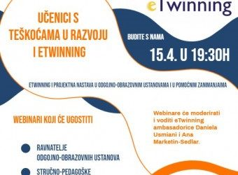 Nastavnice Vesna Stunković i Biserka Vojnović izlagale na webinaru Učenici s teškoćama u razvoju i eTwinning